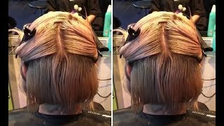 How To Cut A Short Layered Bob Haircut Step By StepTutorial - Part1