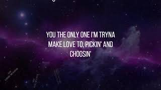 Chris Brown - No Guidance  (ft. Drake) [LYRICS]