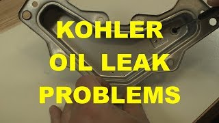 Finding the Breather Reed in a Kohler Courage Single Cylinder