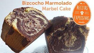 Cómo hacer un bizcocho marmolado - Marbel cake - Recetas Explosivas