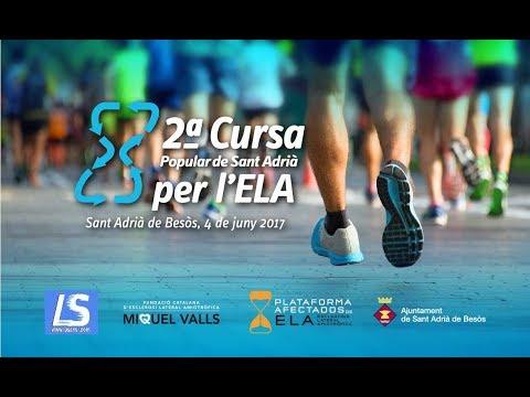Vídeo Resum 2a Cursa Correos Express Sant Adrià per l'ELA