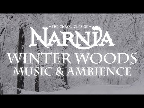 Chronicles of Narnia   Winter Woods Music & Ambience – Relaxing Music with Sounds of Winter