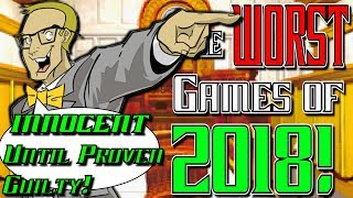 The WORST Games of 2018 are INNOCENT Until Proven Guilty!