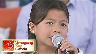 "Lyca sings ""Basang-Basa Sa Ulan"" on UKG"