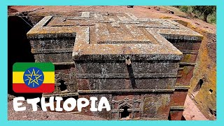 ETHIOPIA, the ancient christian church of Saint George in LALIBELA