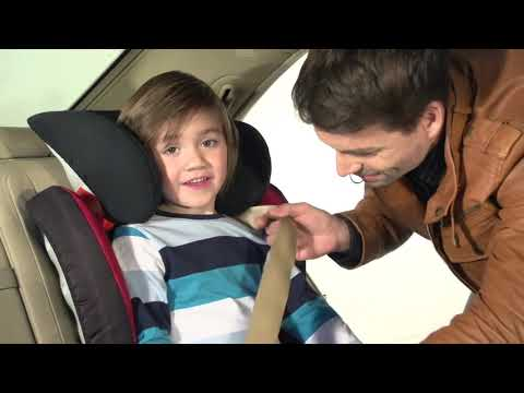 Britax Roemer автокресло Kidfix SL Black Series Fire Red Trendline (Группа 2-3, от 15 до 36