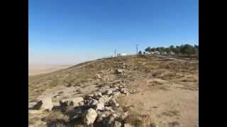 preview picture of video 'Panorama from Mitzpe Karyut to Biq'at 'Arad'