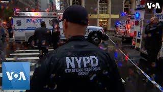 Helicopter Crash On New York City Skyscraper Kills 1