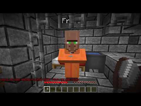 PRISON ESCAPE in MINECRAFT (GOD)
