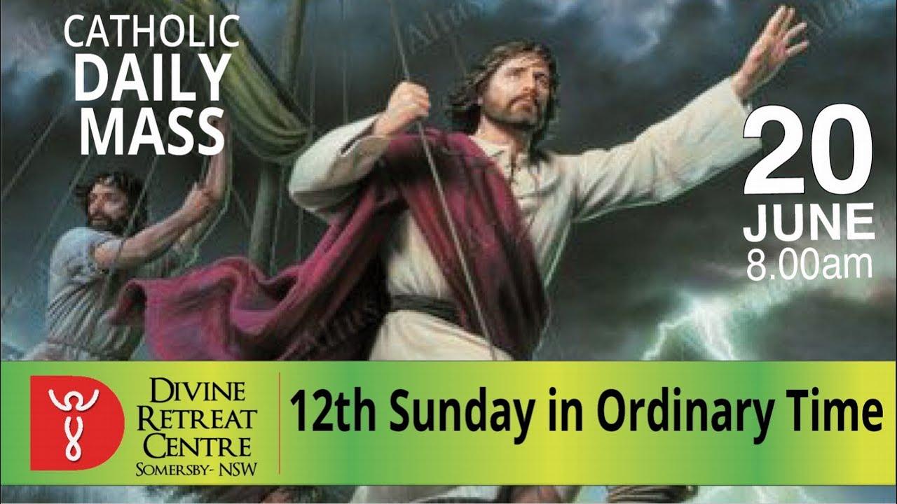 Catholic Mass Online 20th June 2021 Sunday Mass