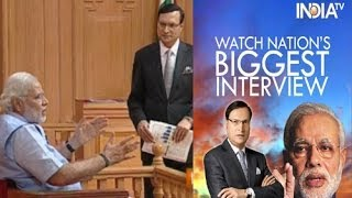 Narendra Modi In Aap Ki Adalat 2014 Full Episode  India TV