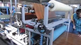 HOT MELT ROLLER COATING PVC DECORATIVE FILM