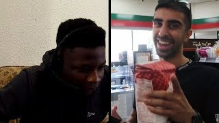 REACTING TO SIDEMEN 100000 CALORIES IN 24 HRS CHALLENGE