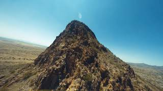 Nazgul5 HD DJI FPV Cliff Dives and mountain surfing in Scottsdale, AZ