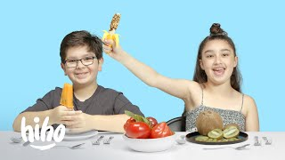 Kids Try Strange Popsicles | Kids Try | HiHo Kids