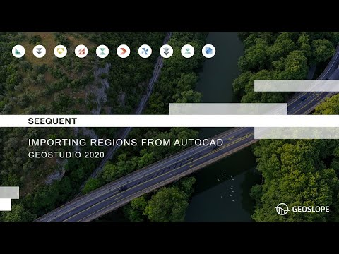 Chuyển mô hình từ AutoCAD sang GeoSlope