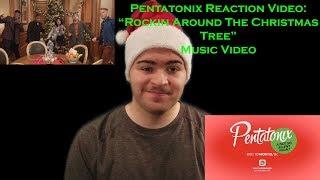 """Pentatonix Reaction Video: """"Rockin' Around The Christmas Tree"""" Music Video"""