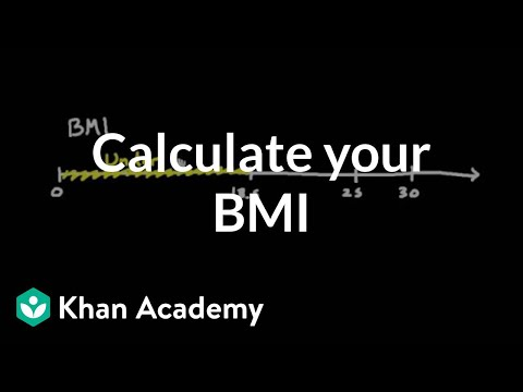 Calculate your own body mass index (video) Khan Academy - bmi calculation formula