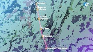 Между Великим Новгородом и поселком Тесово-Нетыльский начал курсировать рельсовый автобус
