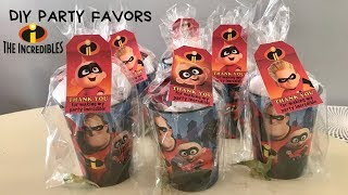 The Incredibles Party Favors | Kids Birthday