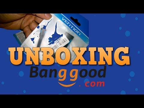 UNBOXING: Micro Adaptador VENTION Cabo USB OTG - BANGGOOD.COM