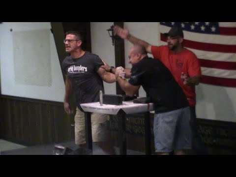 ARM WRESTLING CHARITY EVENT- MAGA ARMS