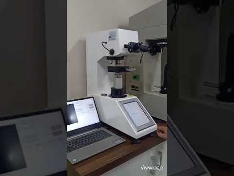 Digital Micro Vickers Hardness Tester with Auto Turret
