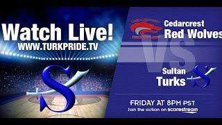 Boy's Basketball - Sultan vs. CedarCrest