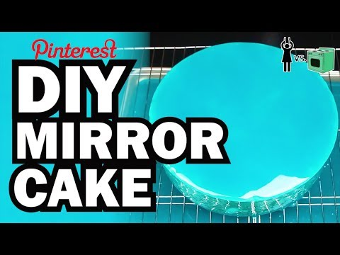Video DIY Mirror Cake, Corinne VS Cooking #9