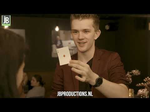 David Nathan - Illusieshow  boeken of inhuren? | JB Productions