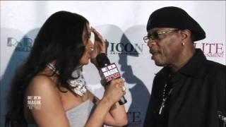 Ali Woodson Celebrity Interview at RnB Live Faith Evans Red Carpet