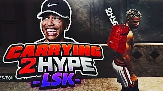 NBA 2K19 PARK FT. LSK - CARRYING 2HYPE EP. 1