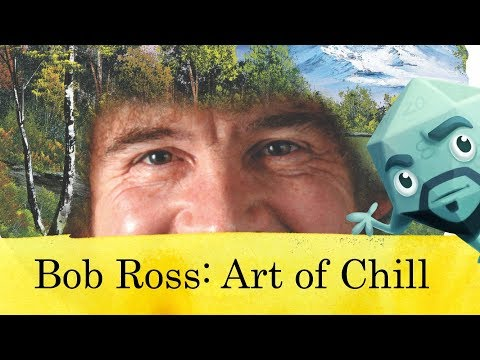 Bob Ross: Art of Chill Game Review - with Zee Garcia