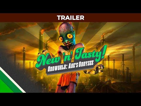 Oddworld New 'n' Tasty : Trailer, Microids & Oddworld Inhabitants de Oddworld: New and Tasty