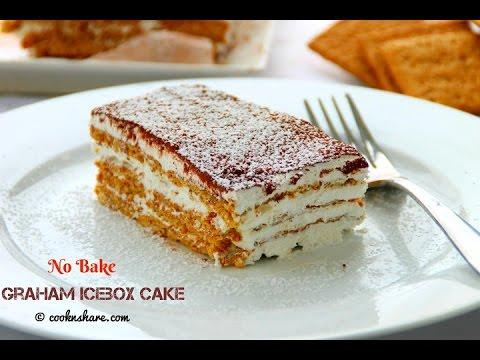 Video No Bake Graham Icebox Cake - 4 Ingredients