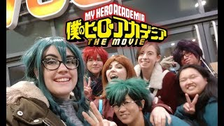 BNHA Cosplay - Class 1-A go to see the movie!!