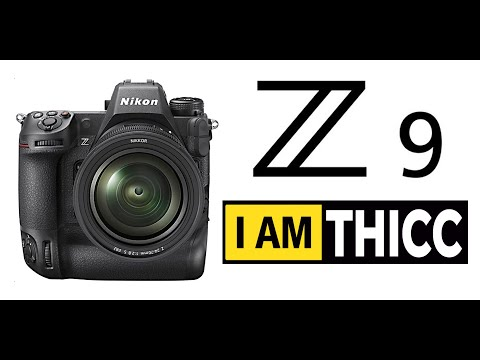 Nikon Z9 Preview - (Full Size Sony a1?)