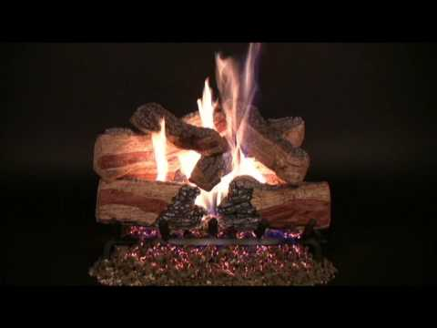 Rasmussen Evening Desire Vented Gas Log Set