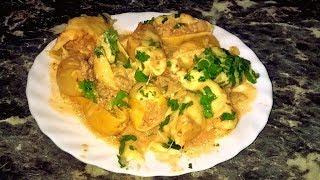 Фаршированные ракушки (макароны) с мясом