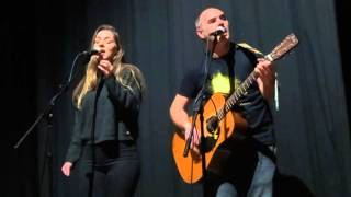 """Hannah & Jez Leat """"Would You Love Me Any Less"""" live @ Gloucester Guildhall UK"""