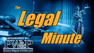 The Legal Minute - Starting a Business