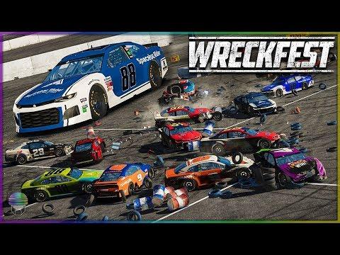 NASCAR CAMARO DEMO DERBY! | Wreckfest