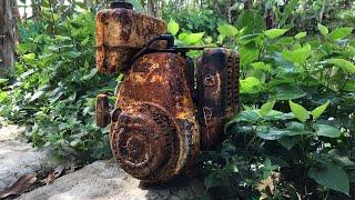 Restoration 2 Stroke Engine ROBIN EC 10 | Restore Engine Robin Antique