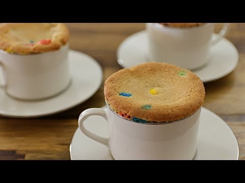 M&M Lava Cookie Recipe – How to Make Molten Cookie In A Mug