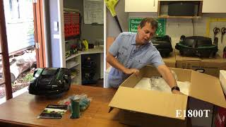 Robot Lawn Mowers Australia – Exgain E1800 – Unboxing Video
