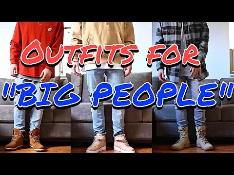 "OUTFIT IDEAS FOR ""BIG PEOPLE"" – HUSKY FASHION TIPS!"