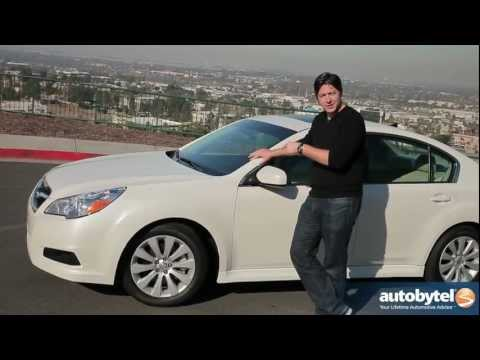 2012 Subaru Legacy: Video Road Test and Review