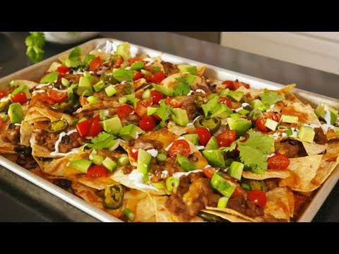 how to make the best nachos ever delish insanely easy