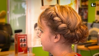 HOCHSTECKFRISUR - Hair Tutorial LIFESTYLE TV Video