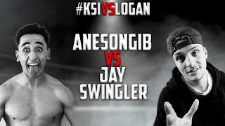 AnEsonGib VS. Jay Swingler  - FULL FIGHT #KSIvsLogan
